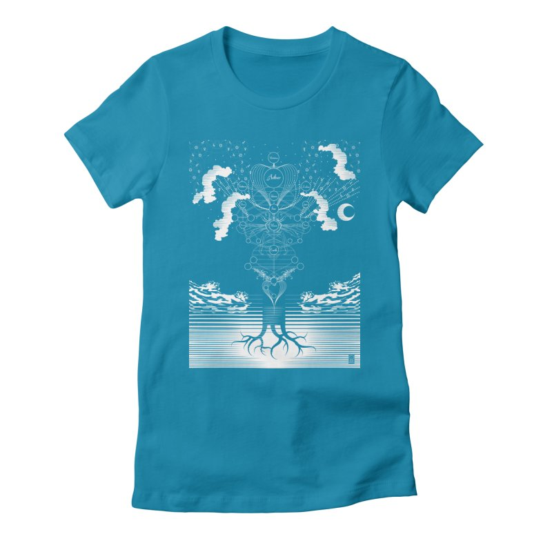 Alchemy: Tree of Life Women's Fitted T-Shirt by TheOrrchard's Artist Shop