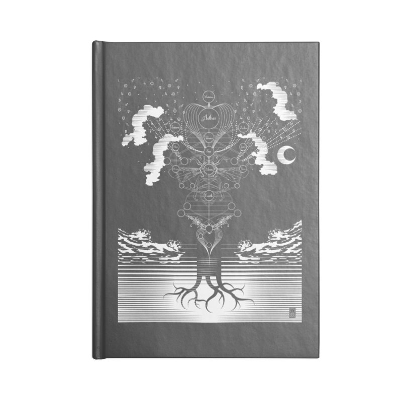 Alchemy: Tree of Life Accessories Notebook by TheOrrchard's Artist Shop