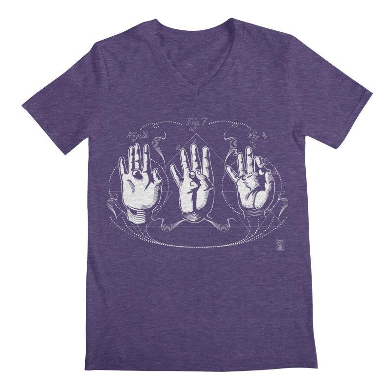 Alchemy: King of Ghost Hands Men's V-Neck by TheOrrchard's Artist Shop