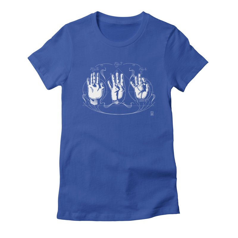 Alchemy: King of Ghost Hands Women's Fitted T-Shirt by TheOrrchard's Artist Shop