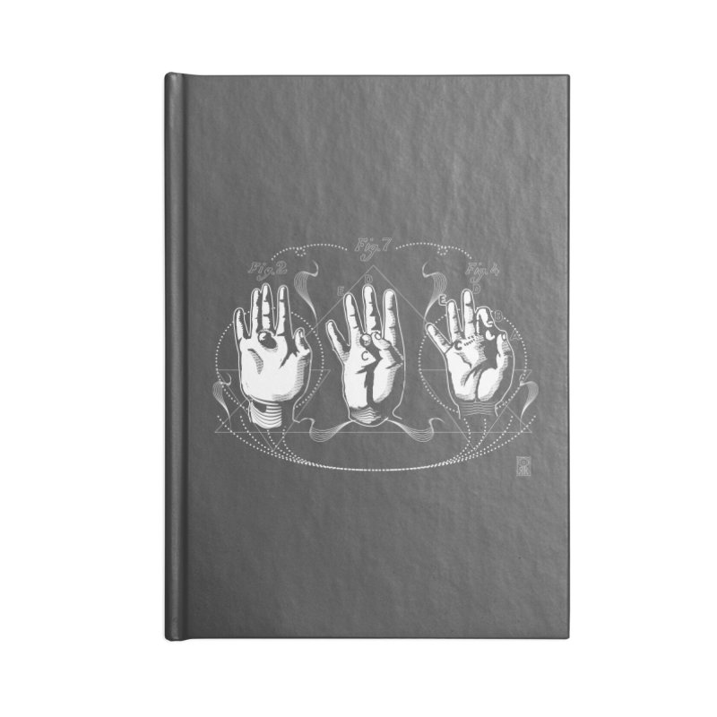 Alchemy: King of Ghost Hands Accessories Notebook by TheOrrchard's Artist Shop
