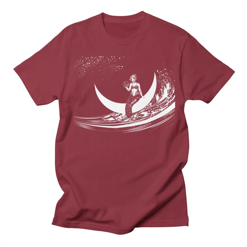 Swan Moon Men's T-shirt by TheOrrchard's Artist Shop