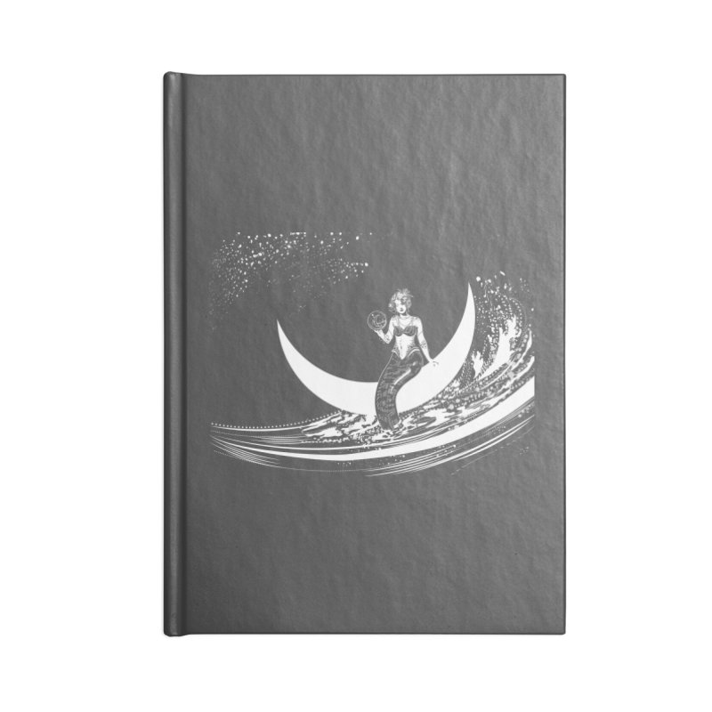 Swan Moon Accessories Notebook by TheOrrchard's Artist Shop