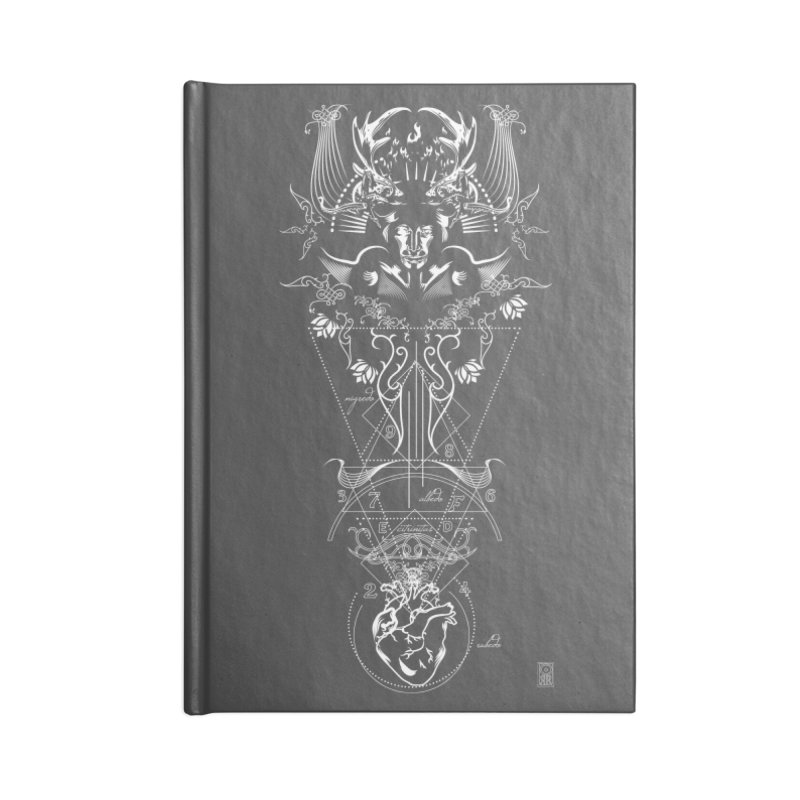 Alchemy: One Eyed Gods  Accessories Notebook by TheOrrchard's Artist Shop