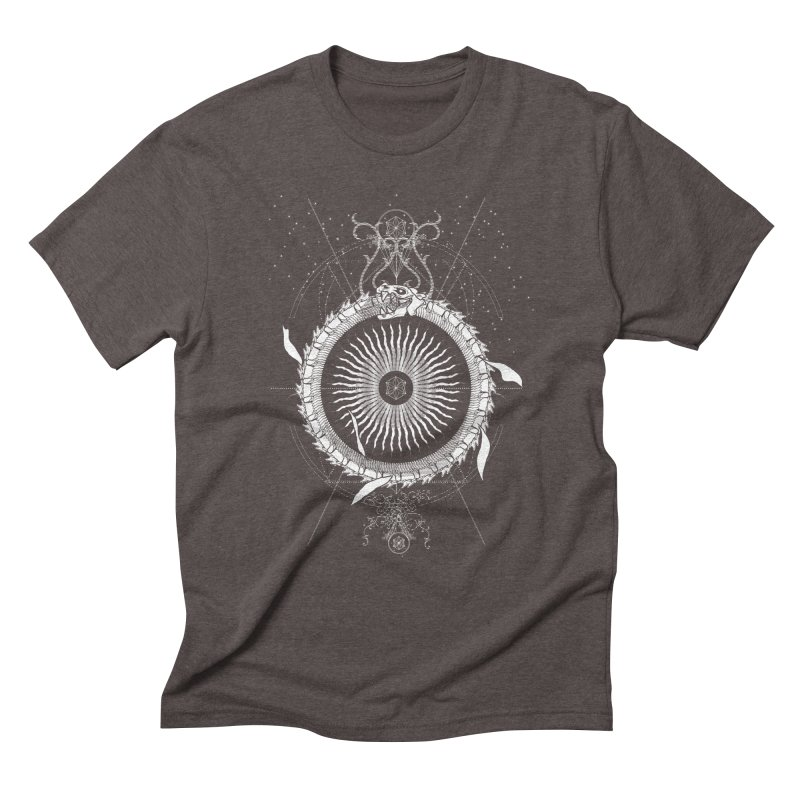 Alchemy: Ouroboros Men's Triblend T-Shirt by TheOrrchard's Artist Shop