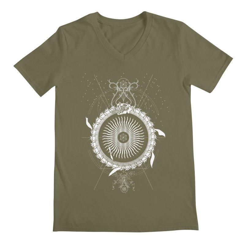 Alchemy: Ouroboros Men's V-Neck by TheOrrchard's Artist Shop