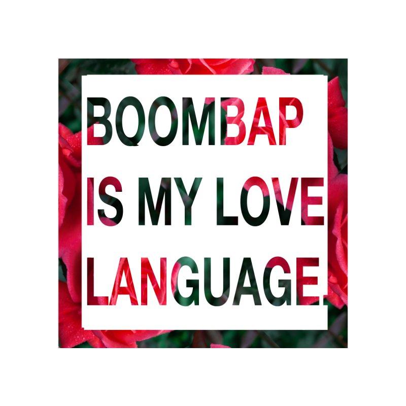 BOOMBAP IS MY LOVE LANGUAGE Men's T-Shirt by thr3ads
