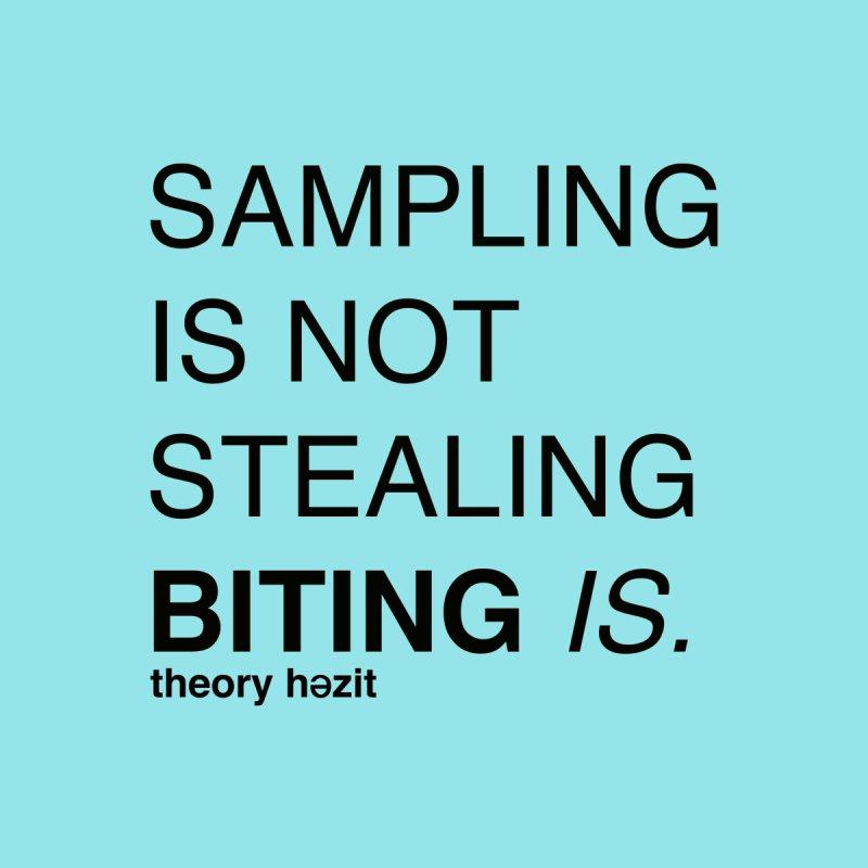 Sampling Is Not Stealing Men's T-Shirt by thr3ads