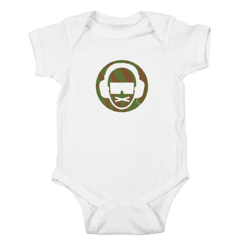camo 3 Kids Baby Bodysuit by thr3ads
