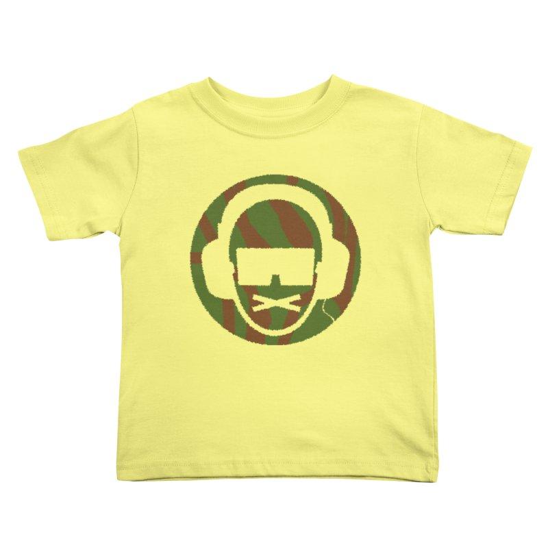 camo 3 Kids Toddler T-Shirt by thr3ads