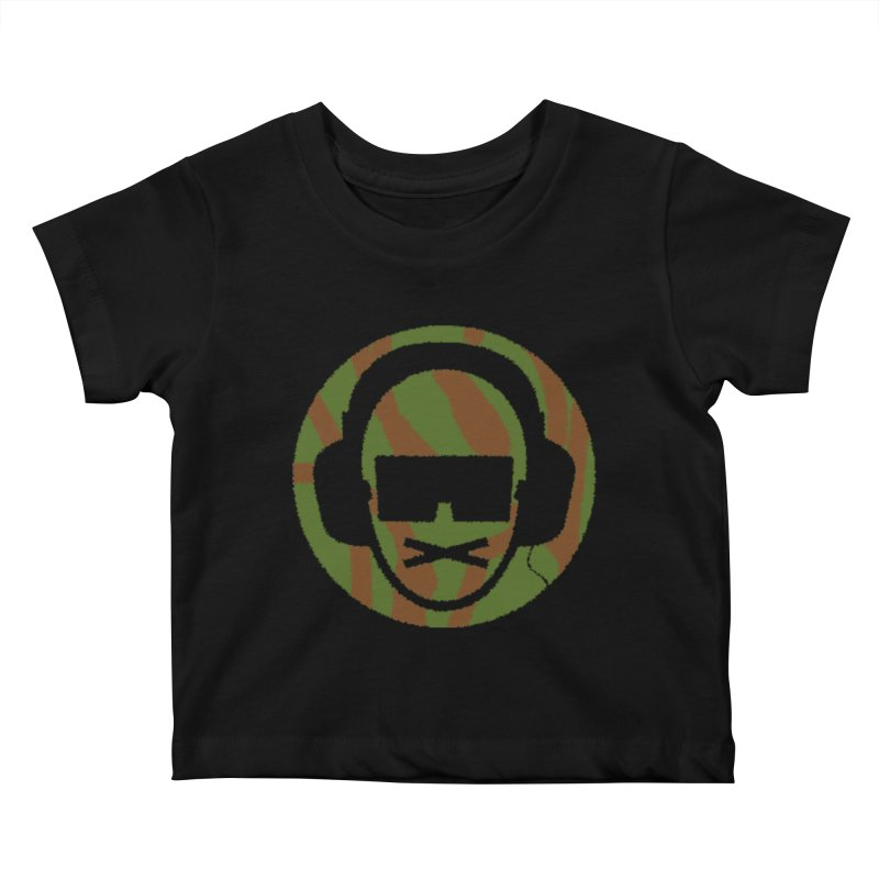 camo 3 Kids Baby T-Shirt by thr3ads