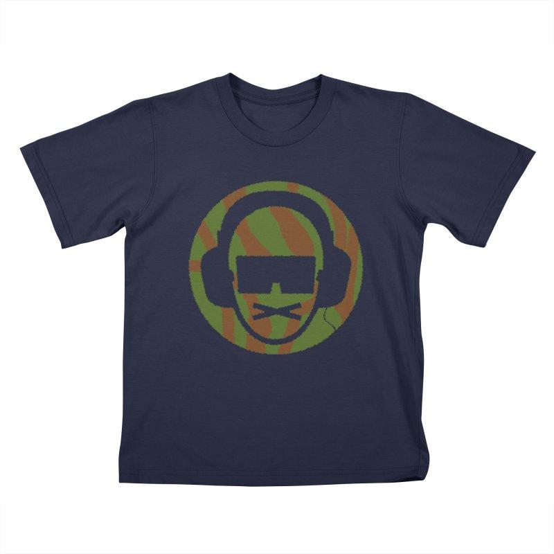 camo 3 Kids T-Shirt by thr3ads
