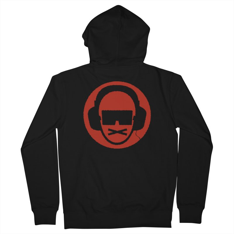 red 3 Men's French Terry Zip-Up Hoody by thr3ads