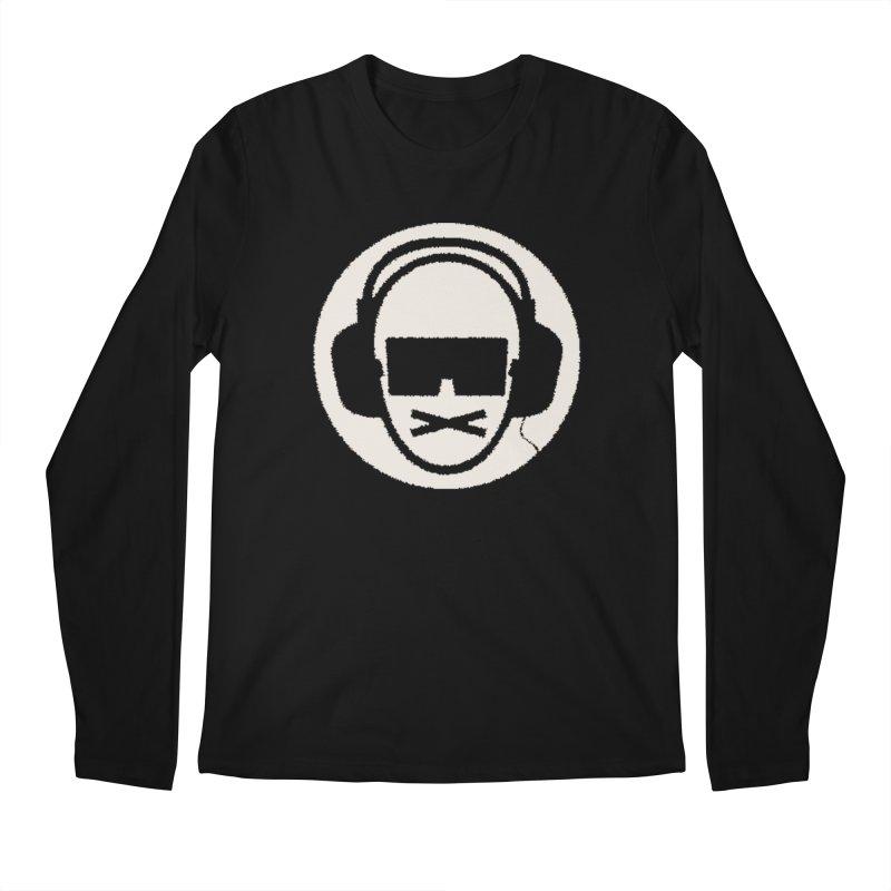 white 3 Men's Longsleeve T-Shirt by thr3ads