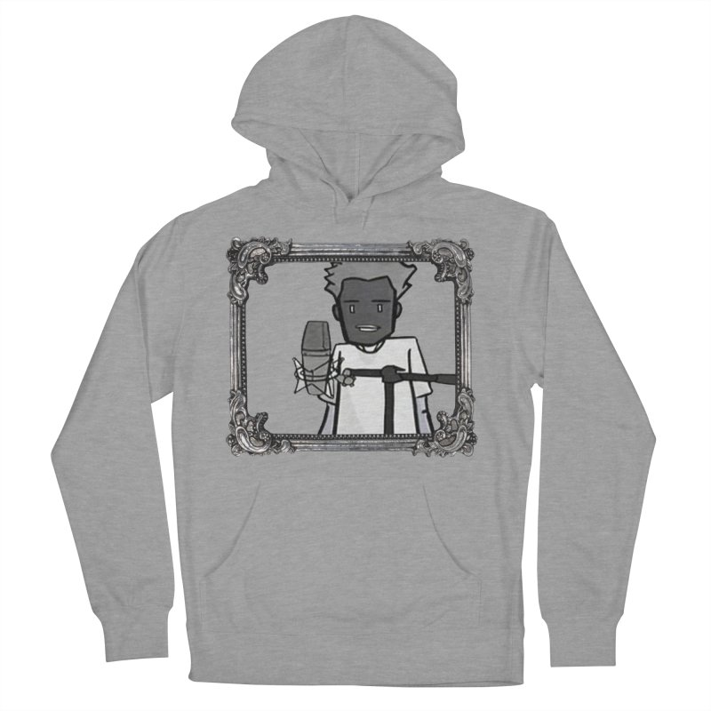 I Just Wanna Rap in Men's French Terry Pullover Hoody Heather Graphite by thr3ads