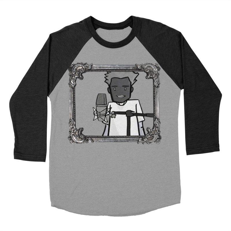 I Just Wanna Rap Men's Baseball Triblend Longsleeve T-Shirt by thr3ads