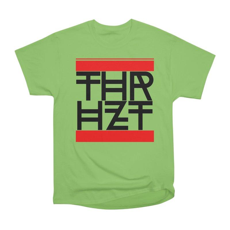 thr3e dmc black Women's Heavyweight Unisex T-Shirt by thr3ads
