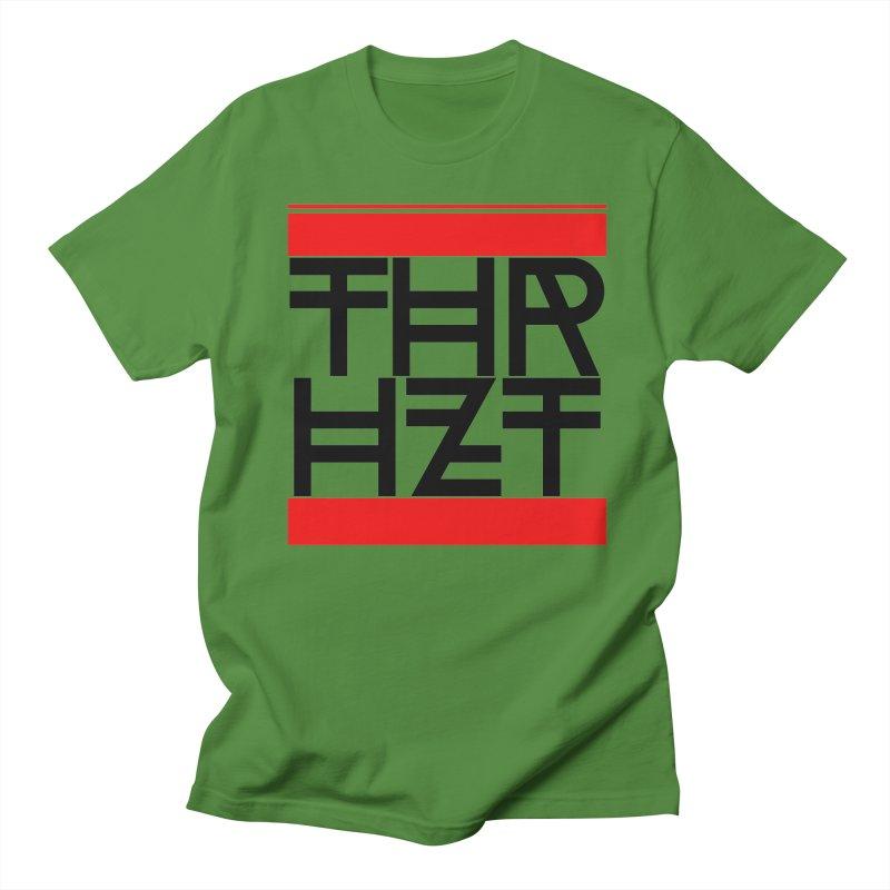 thr3e dmc black Women's Regular Unisex T-Shirt by theoryhazit's Shirt Shop
