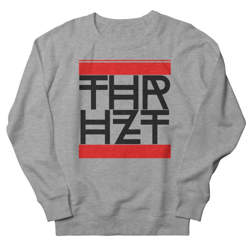 thr3e dmc black Women's French Terry Sweatshirt by theoryhazit's Shirt Shop