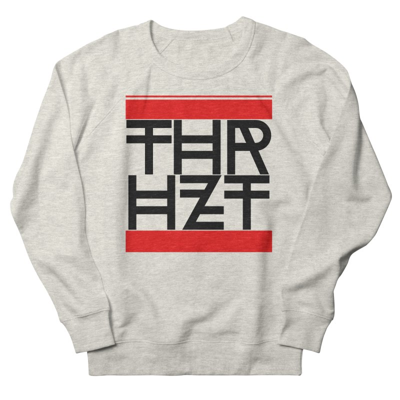 thr3e dmc black Men's French Terry Sweatshirt by thr3ads