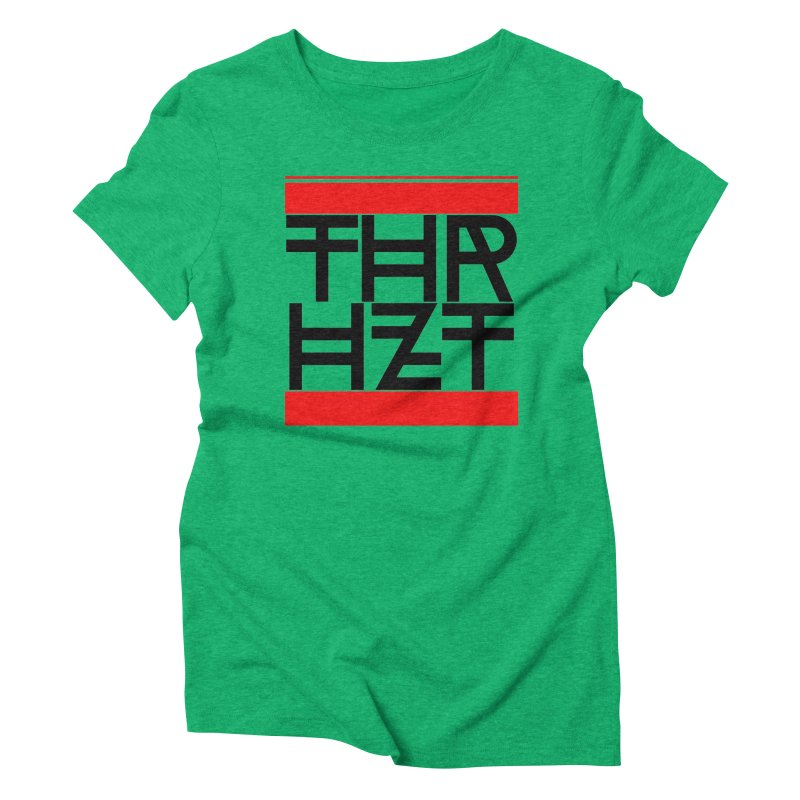 thr3e dmc black Women's Triblend T-Shirt by theoryhazit's Shirt Shop
