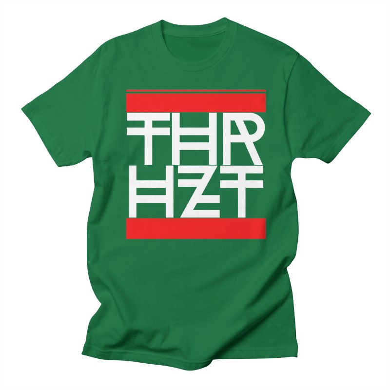 thr3e dmc white Men's T-Shirt by thr3ads