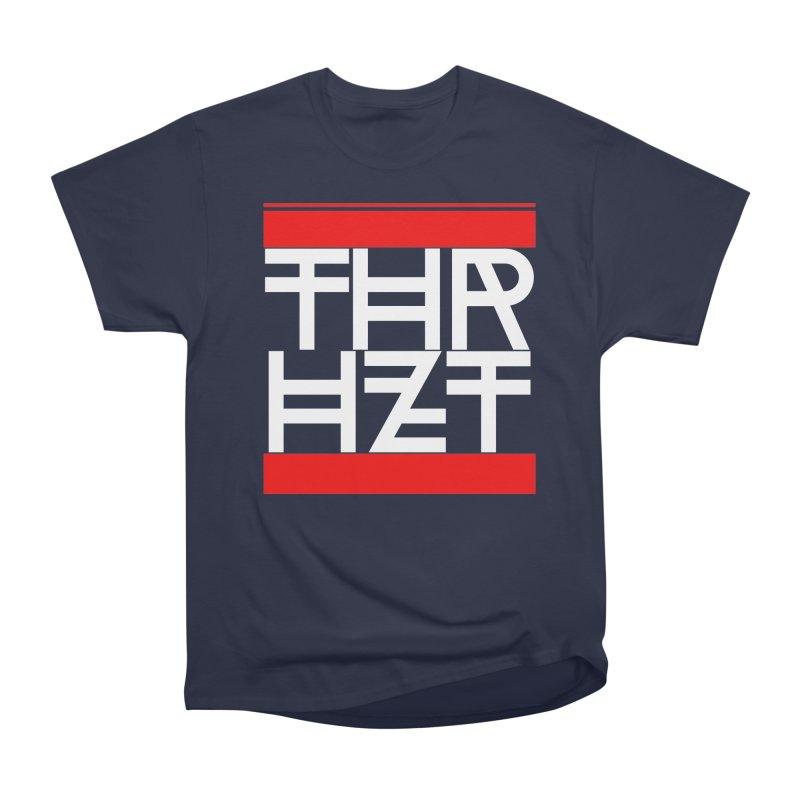 thr3e dmc white Women's Heavyweight Unisex T-Shirt by thr3ads