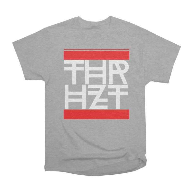 thr3e dmc white Men's Heavyweight T-Shirt by theoryhazit's Shirt Shop