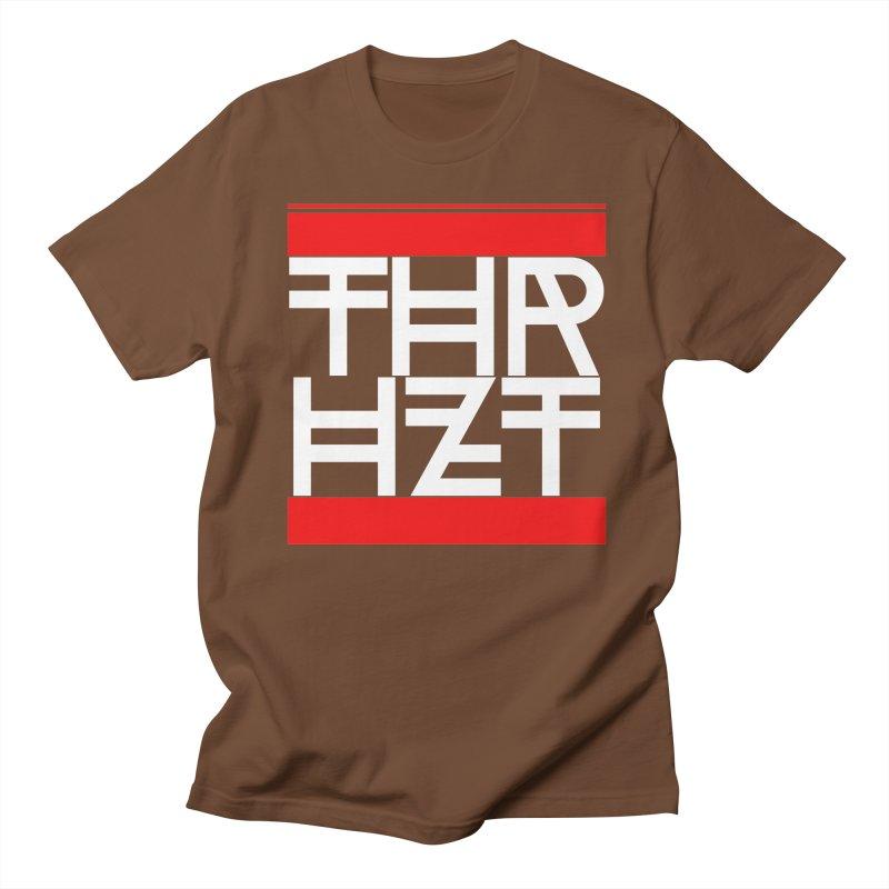 thr3e dmc white Men's Regular T-Shirt by theoryhazit's Shirt Shop