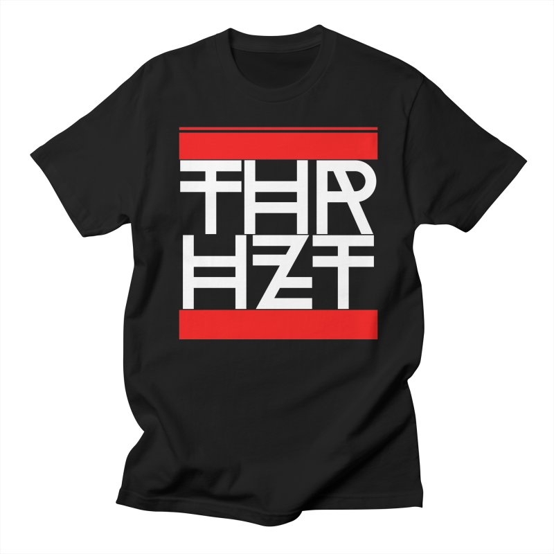 thr3e dmc white Men's Regular T-Shirt by thr3ads