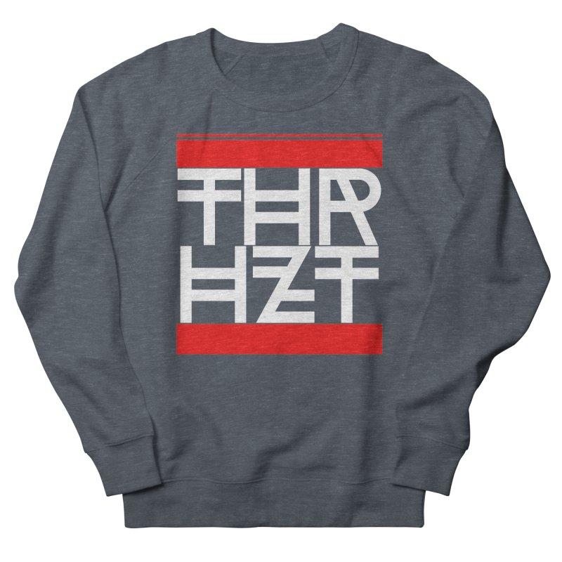thr3e dmc white Men's Sweatshirt by thr3ads