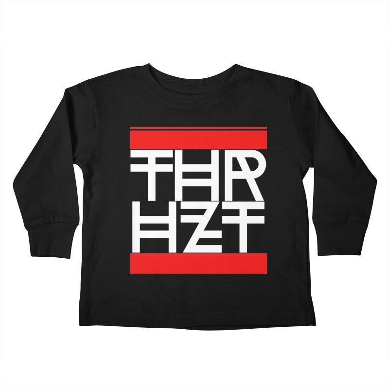 thr3e dmc white Kids Toddler Longsleeve T-Shirt by thr3ads