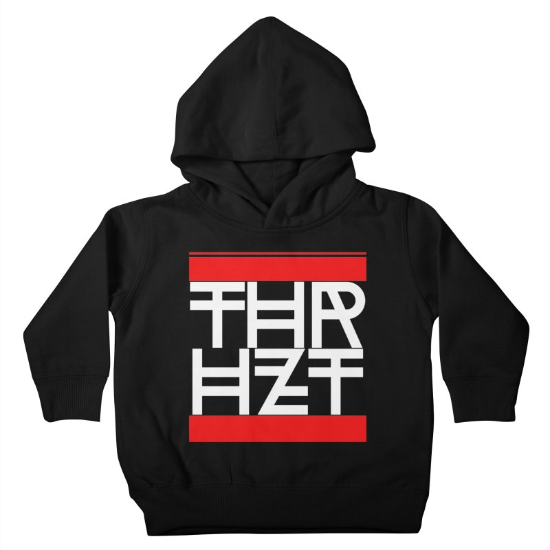 thr3e dmc white Kids Toddler Pullover Hoody by theoryhazit's Shirt Shop