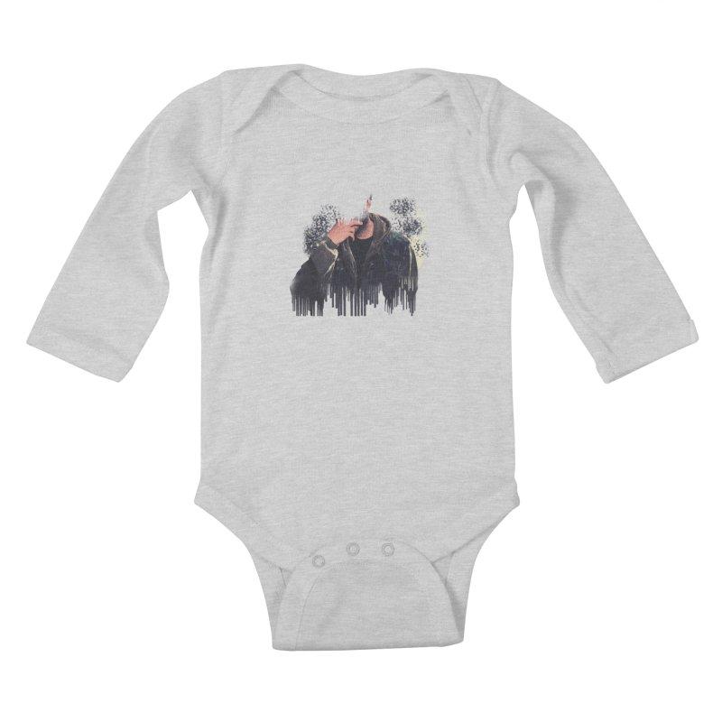 RxB90 Kids Baby Longsleeve Bodysuit by thr3ads