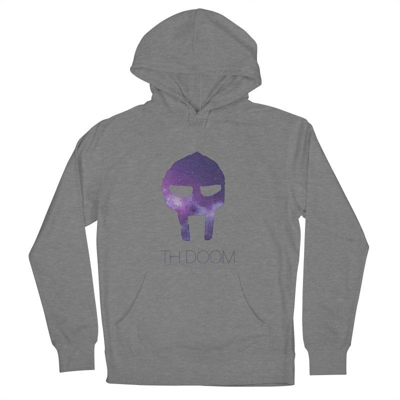 TH DOOM in Men's French Terry Pullover Hoody Heather Graphite by thr3ads