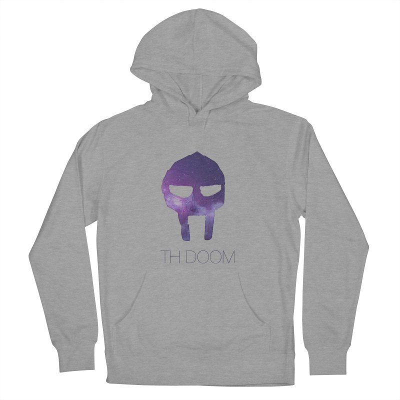 TH DOOM Men's French Terry Pullover Hoody by thr3ads