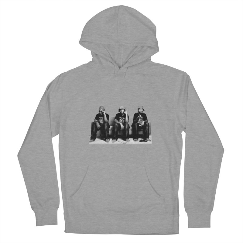 Thr3e Heads Men's French Terry Pullover Hoody by thr3ads