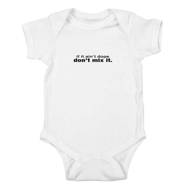 dope. Kids Baby Bodysuit by thr3ads