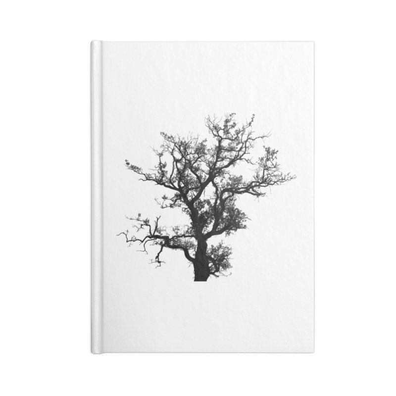 Pervea - Black on Clear in Blank Journal Notebook by The Oxford Comma