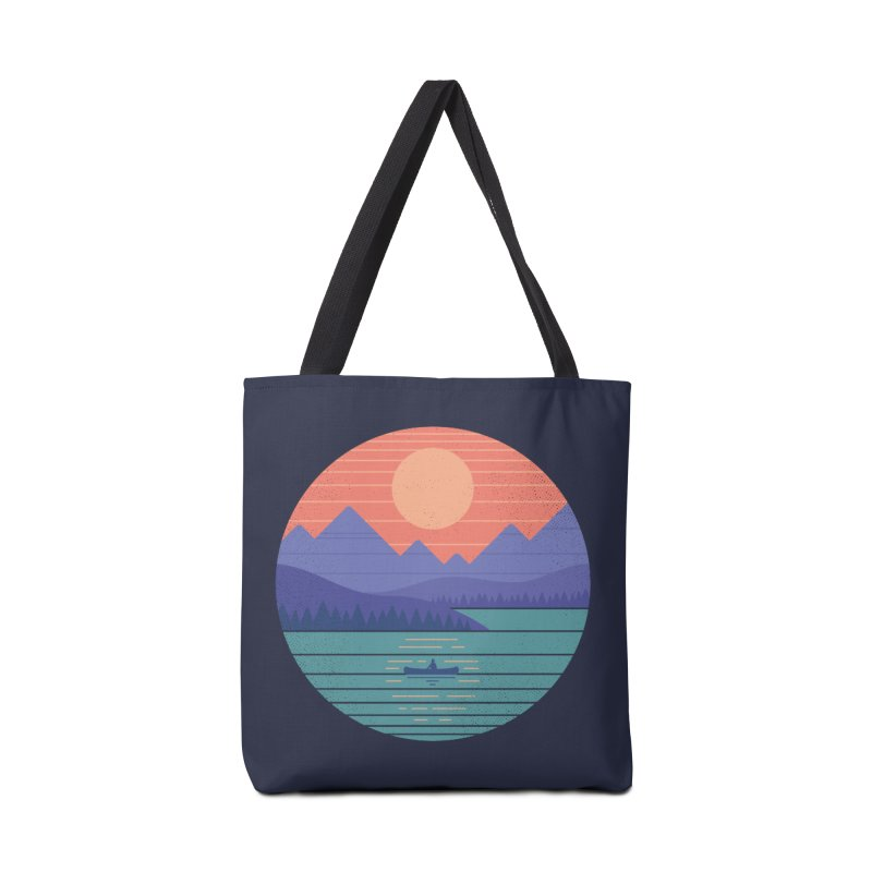 Peaceful Reflection Accessories Tote Bag Bag by thepapercrane's shop