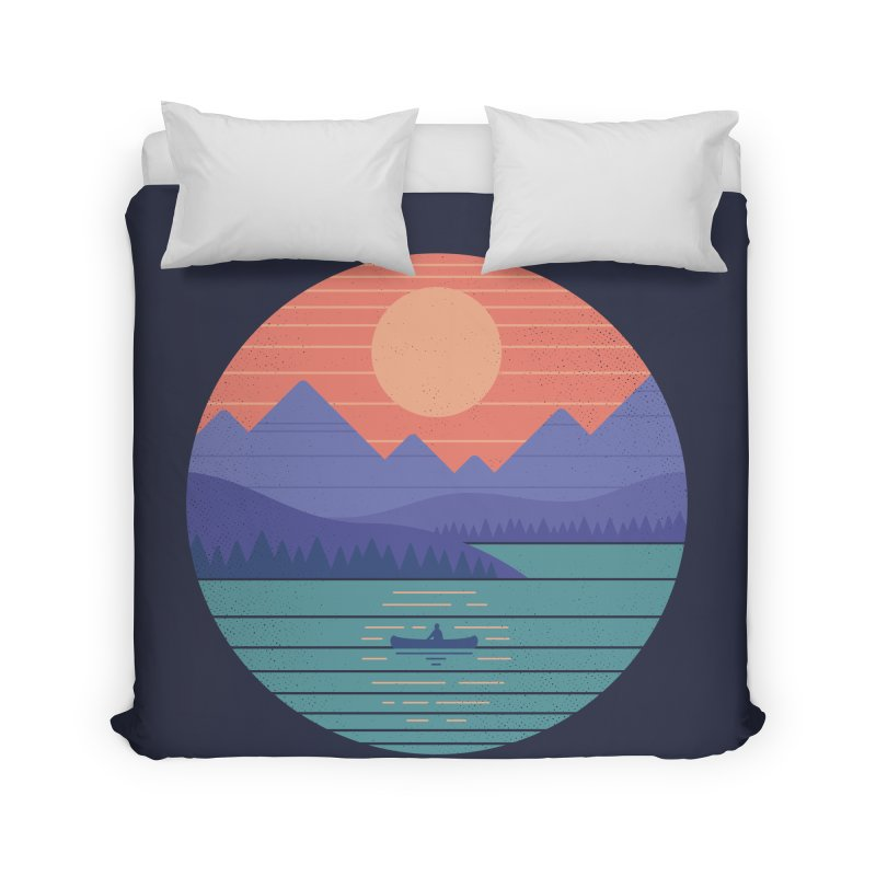 Peaceful Reflection Home Duvet by thepapercrane's shop