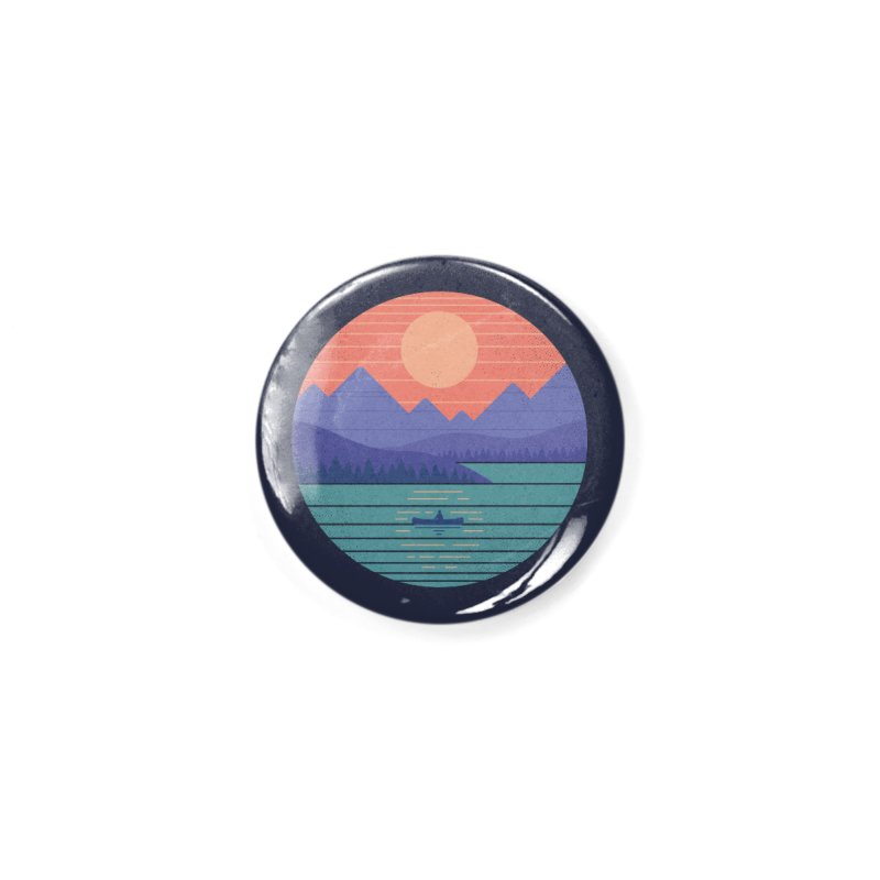 Peaceful Reflection Accessories Button by thepapercrane's shop