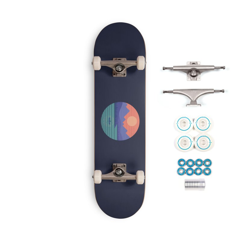 Peaceful Reflection Accessories Complete - Basic Skateboard by thepapercrane's shop