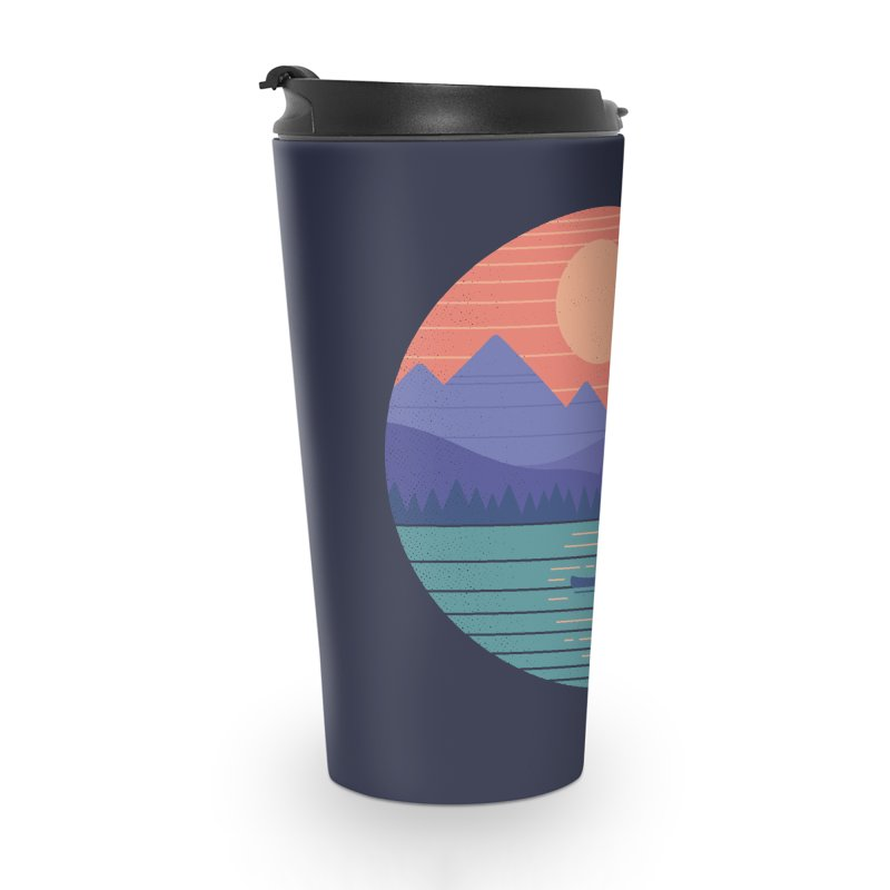 Peaceful Reflection Accessories Travel Mug by thepapercrane's shop