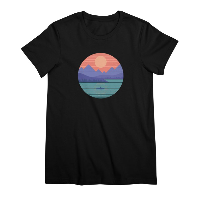 Peaceful Reflection Women's T-Shirt by thepapercrane's shop