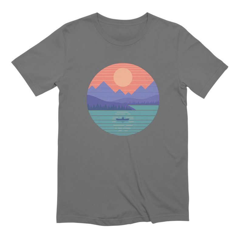 Peaceful Reflection Men's T-Shirt by thepapercrane's shop