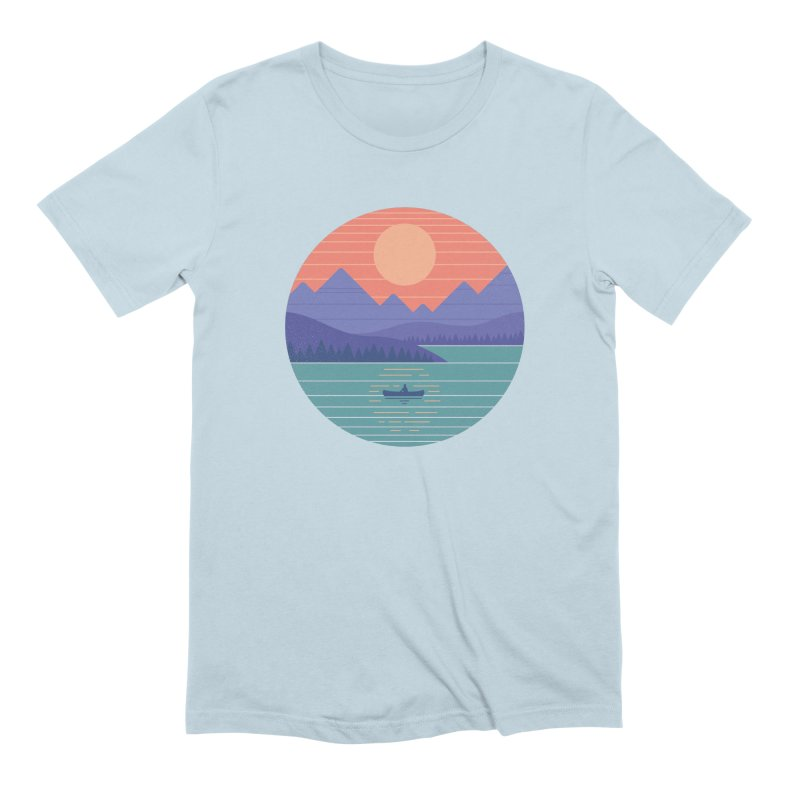 Peaceful Reflection Men's Extra Soft T-Shirt by thepapercrane's shop