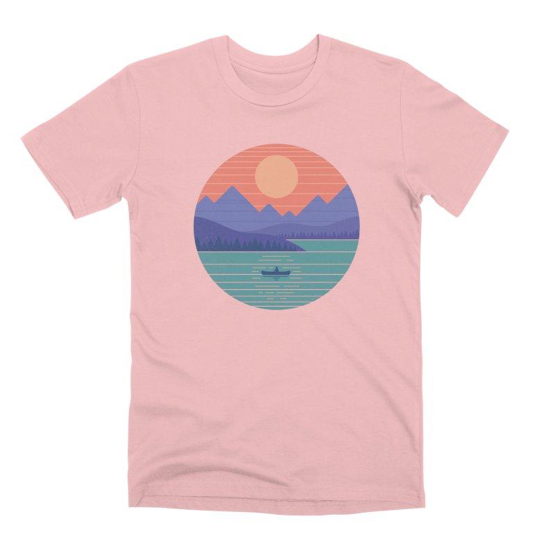 Peaceful Reflection Men's Premium T-Shirt by thepapercrane's shop