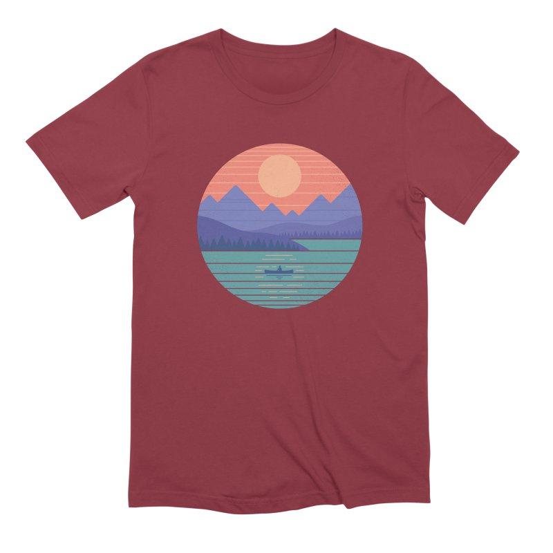 Peaceful Reflection Men's T-Shirt by thepapercrane's shop