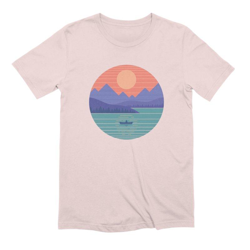 Peaceful Reflection Men's Extra Soft T-Shirt by thepapercrane's shop